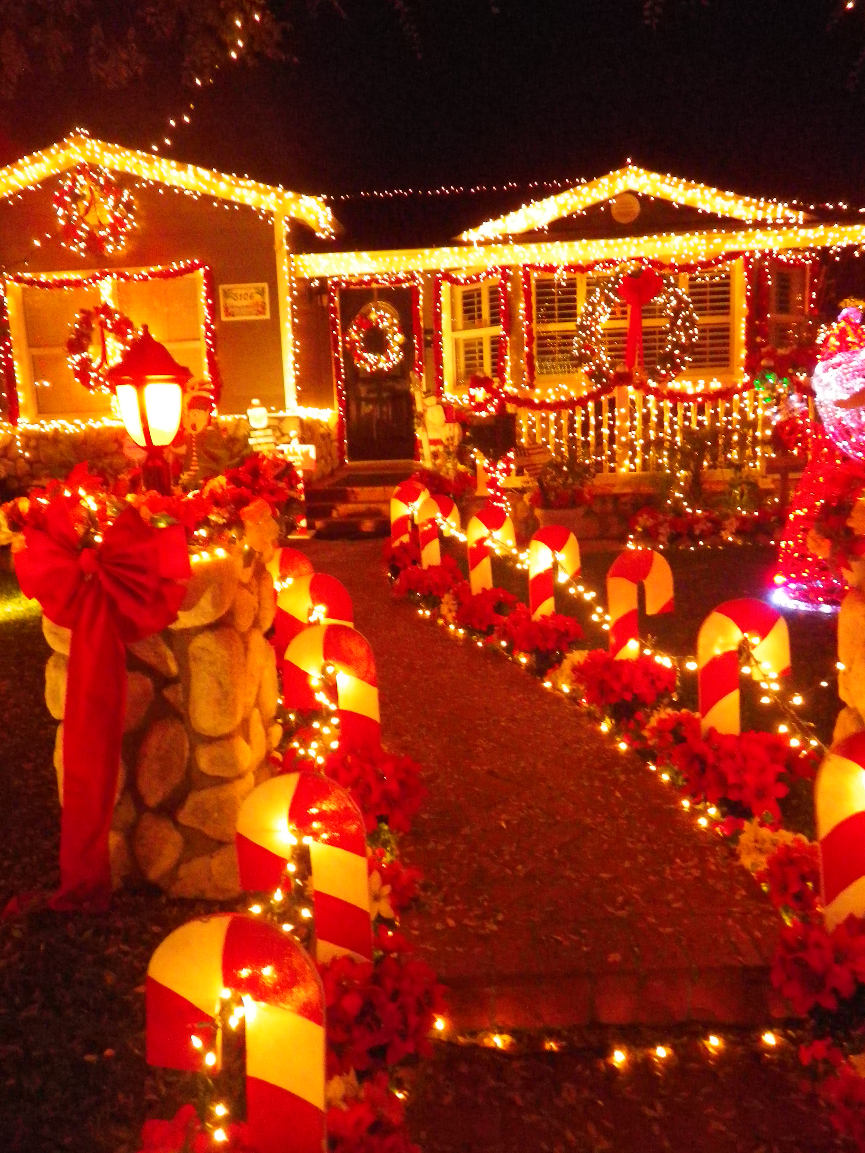 Why do we decorate with christmas lights - Although We Don T Get To See Any Snow Here In Southern California We Do Get To See An Amazing Display Of Christmas Lights In Torrance A City About Thirty